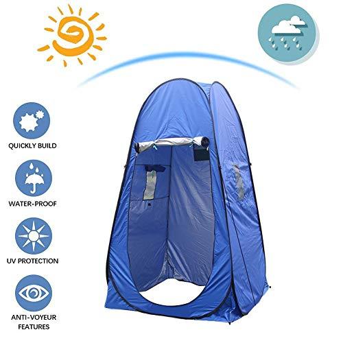 precauti Tienda de privacidad emergente Tienda de Inodoro portátil al Aire Libre Tienda de Ducha de Campamento Vestuario para Camping y Playa