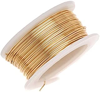 Beadalon Artistic, 18 Gauge, Non-Tarnish Brass, 4 yd (3.7 m) Craft Wire, NT