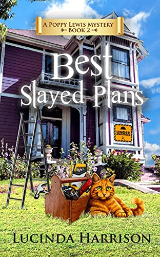Best Slayed Plans (Poppy Lewis Mystery Book 2) by [Lucinda Harrison]