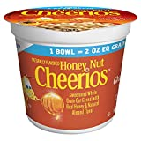 Honey Nut Cheerios Cup Cereal, 2 Oz (Pack of 60)