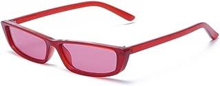MINCL/Bold Small Frame Sunglasses Stylish Fashion Designer Rectangle Frame Shades