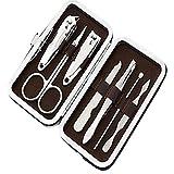 Nagelknipser, Nagelfeile und Nagelheber für perfekte Pediküre und Maniküre, Nagelfeilen für eingewachsene Zehennägel, Set für Dicke Nägel