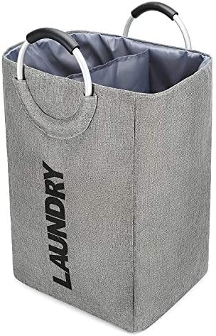 Foldable Laundry Basket with Handles Linen Slim Laundry Hampers for Laundry Foldable Clothes product image