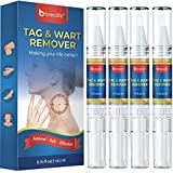 BreoLife Skin Tag Remover - Quickly Remove Skin, Wart, Mole Formula for Men and Women (4 Packs)