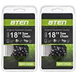 8TEN Chainsaw Chain for Stihl 260 261 270 280 290 360 361 380 22BPX074G 18 inch .063 .325 74 Drive Links 2 Pack