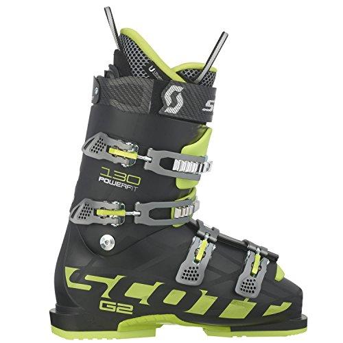 SCOTT INVIERNO Bota Esqui G2 130 Powerfit Black/Green 26.0/40.0