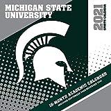 Michigan State Spartans 2021 12x12 Team Wall Calendar