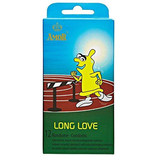 Amor Long Love: 12 aktverlängernde Kondome (5 x 12 Stück), Sparset