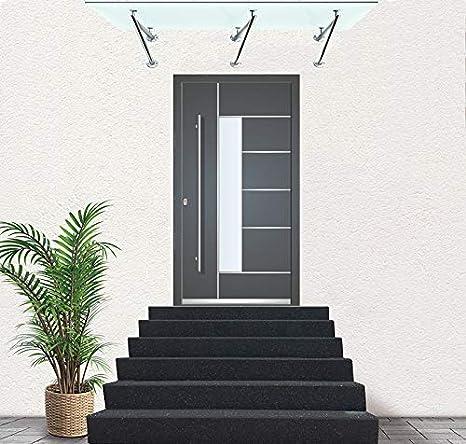 inkl Halter 4 Loch, 120x90cm Milchglas Schwarzglas Glass Concept 24 13mm Milchglas Klarglas Verbundssicherheitsglas Halter Echtglas Glasvordach