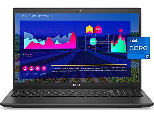 Dell Business Laptop Latitude 3520, 15.6″ FHD IPS Backlit Display, i7-1165G7, 16GB RAM, 512GB SSD, Webcam, WiFi 6, USB-C, HDMI, Win 10 Pro