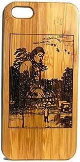 Buddha Kamakura-iPhone 8 Plus Holz Phone Case/Cover von imak