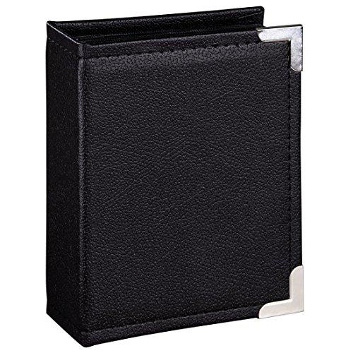 Hama Einsteckalbum New York City, für 200 Fotos im Format 10x15, schwarze Innenseiten, 2 Einsteck-Taschen pro Seite, Foto-Album schwarz