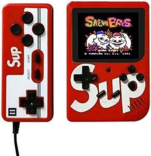 لوحة تحكم ألعاب الفيديو Retro Mini المحمولة Gameboy المدمج 400 (أحمر)