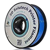 3D Solutech Real Blue 3D Printer PLA Filament 1.75MM Filament, Dimensional Accuracy +/- 0.03 mm, 2.2 LBS (1.0KG) - ST176BLPLA