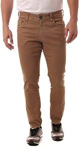 Calça Jeans Eventual Skinny Caqui