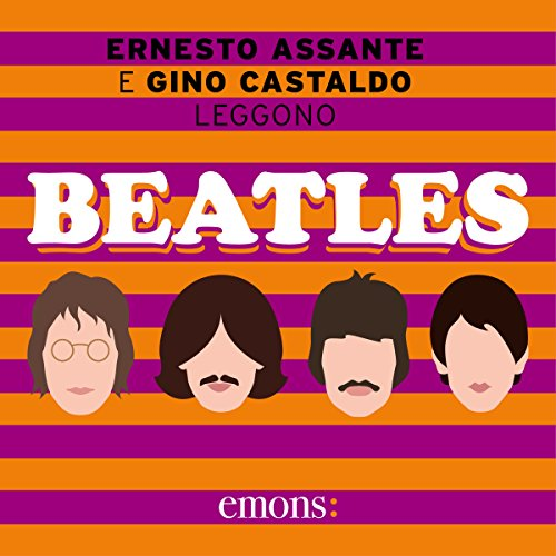 Beatles audiobook cover art