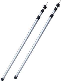 DDタープ DD Tarp Pole - XL size タープ ポール - XLサイズ 2本セット- 最大2.2mまで調節可能なアルミニウム製防水ポール [並行輸入品]