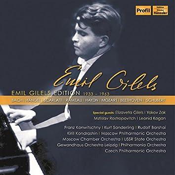 Emil Gilels Edition (1933-1963) [Live]