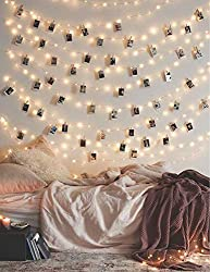 Fairy Lights With Photo Clips