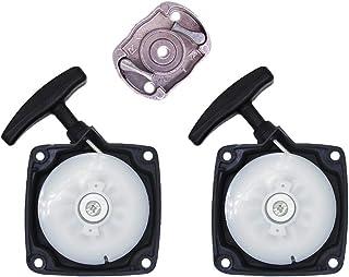 SWNKDG cuerda Starter Starter + mitnehmer placa Motor Sense zorro rojo TARUS TIMBERTECH Fuxtec bc52, bc520