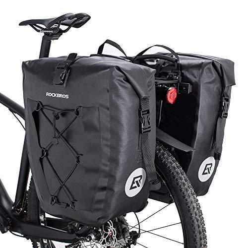 ROCKBROS(ロックブロス)パニアバッグ 自転車 リアバッグ サイドバック キャリアバッグ 防水 大容量 20L 40L 1個 2個セット