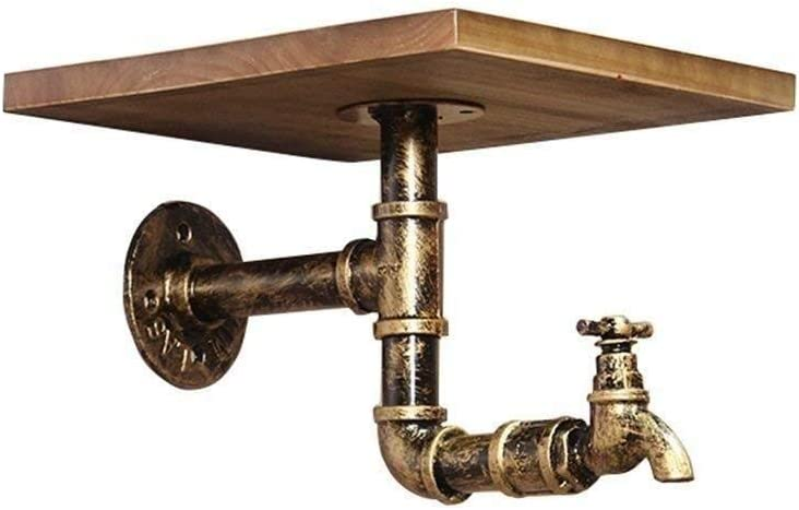 Ranking TOP2 JIE KE Display Racks Rustic Hook Decoration Shelves,Faucet Many popular brands Rac