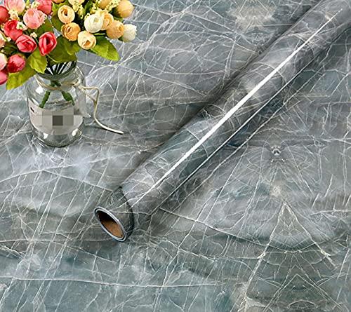 Cocina a prueba de aceite imitación mármol patrón pegatina estufa reformada baño pegatinas de pared autoadhesivas gabinete impermeable papel tapiz
