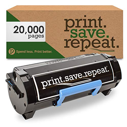 Print.Save.Repeat. Dell V5XDF Extra High Yield Remanufactured Toner Cartridge for B3465 [20,000 Pages]