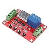 Comparatore di Tensione Finestra Digitale, Controller di Monitoraggio Tensione Multifunzione Rosso DVB01 Comparatore di Tensione Finestra Digitale/misurazione Tensione 12V/24V(24V)
