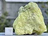 Cristallo di zolfo, guarigione con pietra minerale certificata SilverGeo® ✔️100% autentico