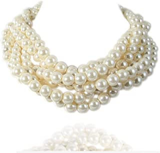 Best bib pearl necklace Reviews