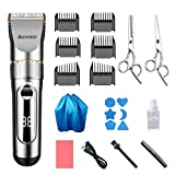 Household Hair Cutter Professional Hair Trimmer Men Rechargeable Electric Powerful Haircut Machine...