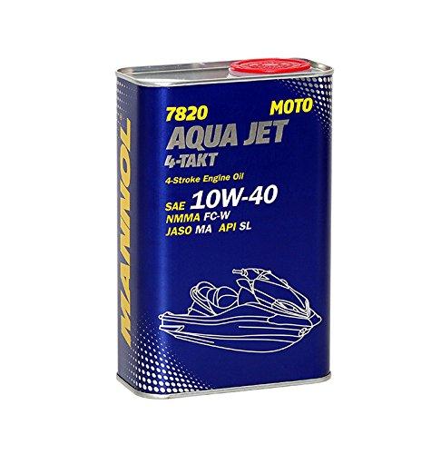 MANNOL 1 x 1L 7820 Aqua Jet 4-Takt 10W-40/API SL NMMA FC-W Jetskis Motoröl
