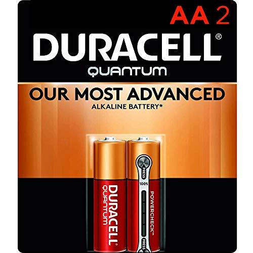 Duracell Quantum AA Alkaline Batteries - 2 count