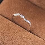 Thin Micro Pave CZ Band Ring 925 Sterling...