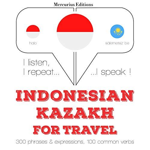Indonesian – Kazakh. For travel cover art