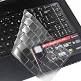 Laprite Premium Keyboard Skin for MSI GS65 GF63 15.6'/MSI PS63 P65 WP65 WS65 15.6 Inch/MSI PS42 14 Inch Gaming Laptop Ultra Thin Dustproof Keyboard Skin - Transparent