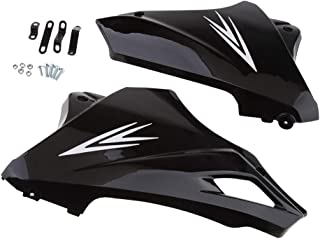 Gloss Black Motorcycle Under Engine Lower Cowl Shrouds Belly Pan Accessories For Honda Grom Msx 125 13-15