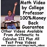 SAT Math Subject Test Levels 1 & 2 DVDs by College Math Professor-Over 10 Hours http://www.amazon.com/shops/math_videos