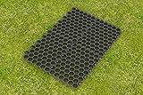 Dalle stabilisatrice pour paddock Noir 50 x 40 x 4 cm