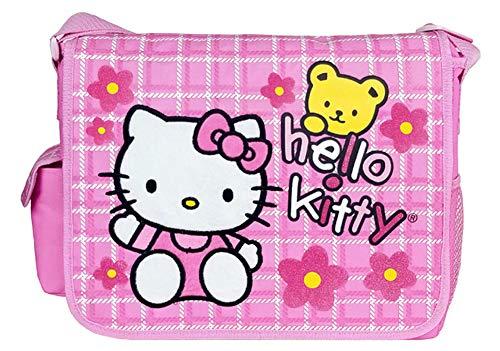 Hello Kitty Messenger Bag - Flowers
