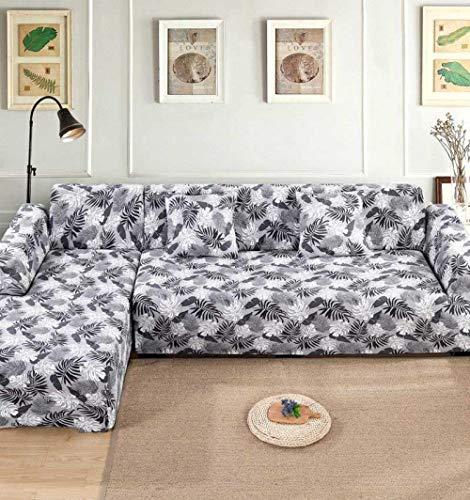 xrglz Funda sofá rinconera Grande, Funda elástica para sofá, Sofá de salón con Funda Protectora Todo Incluido, Sofá esquinero en Forma de L-Color_5_4-Seater_235-300cm