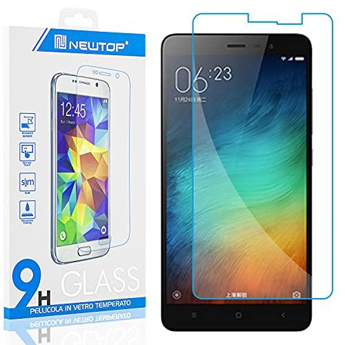 N NEWTOP [1 PEZZO] Pellicola GLASS FILM Compatibile con Xiaomi Mi 5S PLUS, Fina 0.3mm Durezza 9H Vetro Temperato Proteggi Schermo Display Protettiva Anti Urto Graffio Protezione