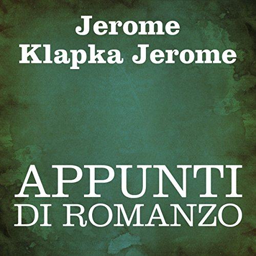 Appunti di romanzo [Novel Notes] audiobook cover art