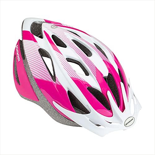 Schwinn Thrasher Bike Helmet, Lightweight Microshell Design, Youth, Pink