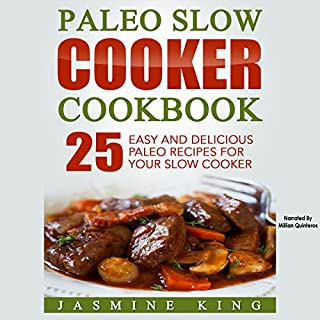 Paleo Slow Cooker Cookbook cover art