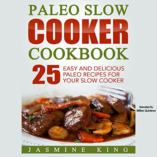 Paleo Slow Cooker Cookbook audiobook cover art