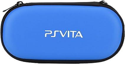 کیف محافظ کیف محافظ قابل حمل fosa کیف قابل حمل سفر سازنده قابل حمل برای Sony PS Vita ، کیسه مسافرتی Playstation Vita ضد ضربه (آبی)