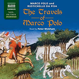 The Travels of Marco Polo cover art