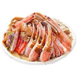 生 ズワイガニ 1kg カット済 特大5Lサイズ ずわい蟹 刺身可 3〜4人前 かに鍋 かにしゃぶ 蟹爪フルポーション 蟹足ビードロカット ギフト贈答にもおすすめ